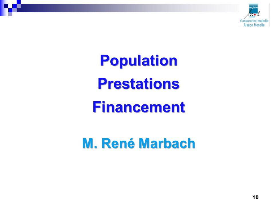 Population Prestations Financement