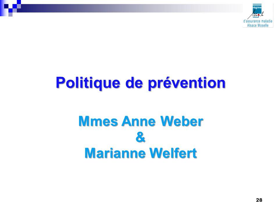 Politique de prévention
