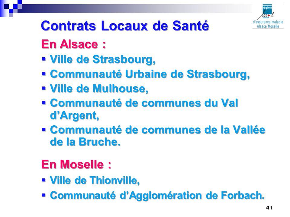 Contrats Locaux de Santé