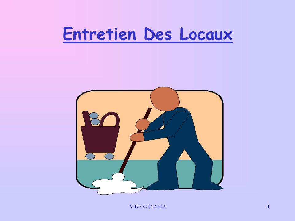Entretien Des Locaux V.K / C.C 2002