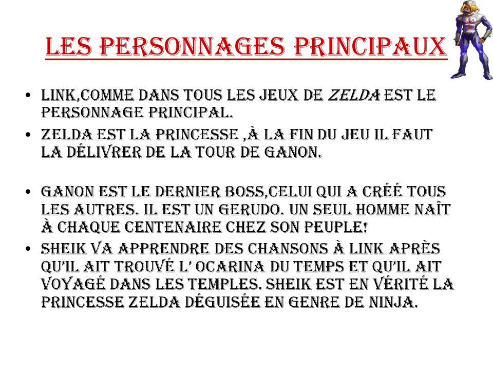 Les personnages Principaux