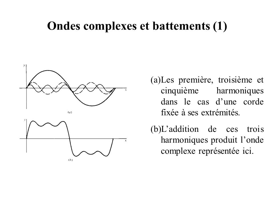 Ondes complexes et battements (1)