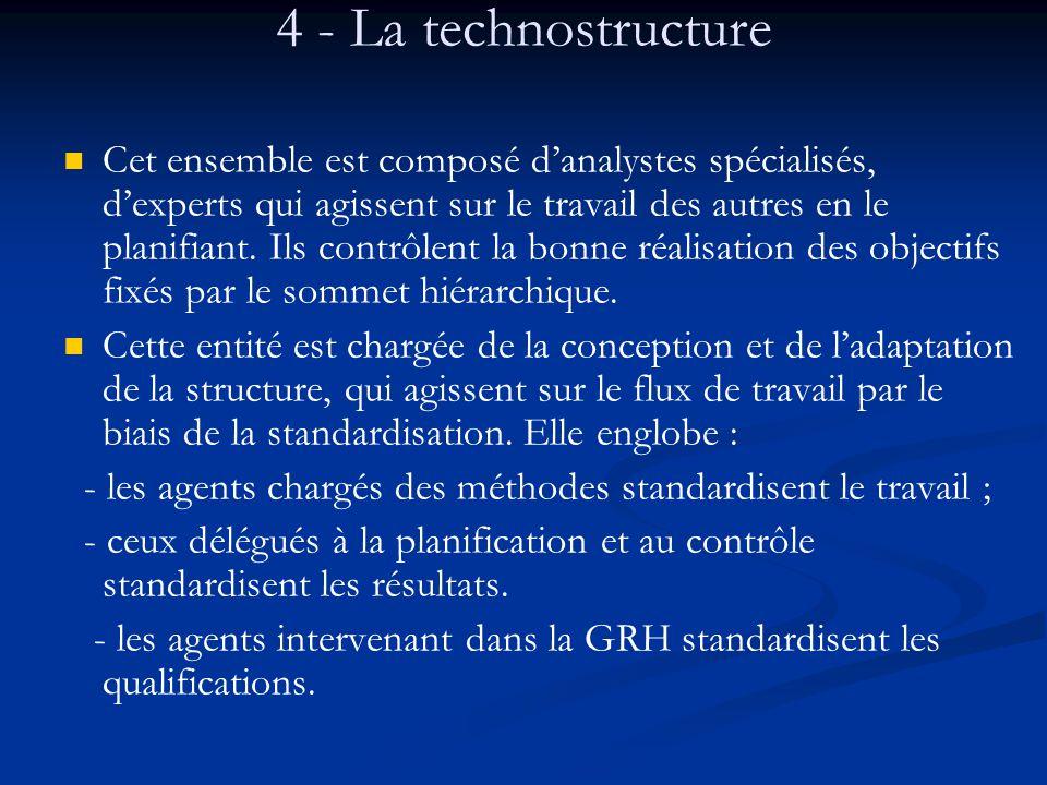 4 - La technostructure