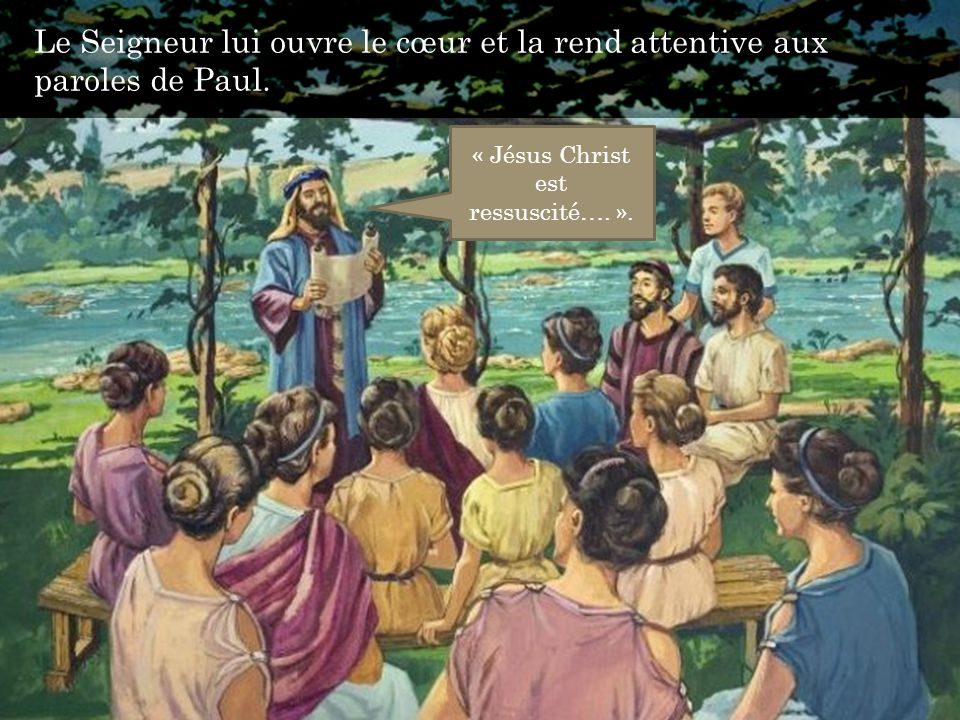 « Jésus Christ est ressuscité…. ».