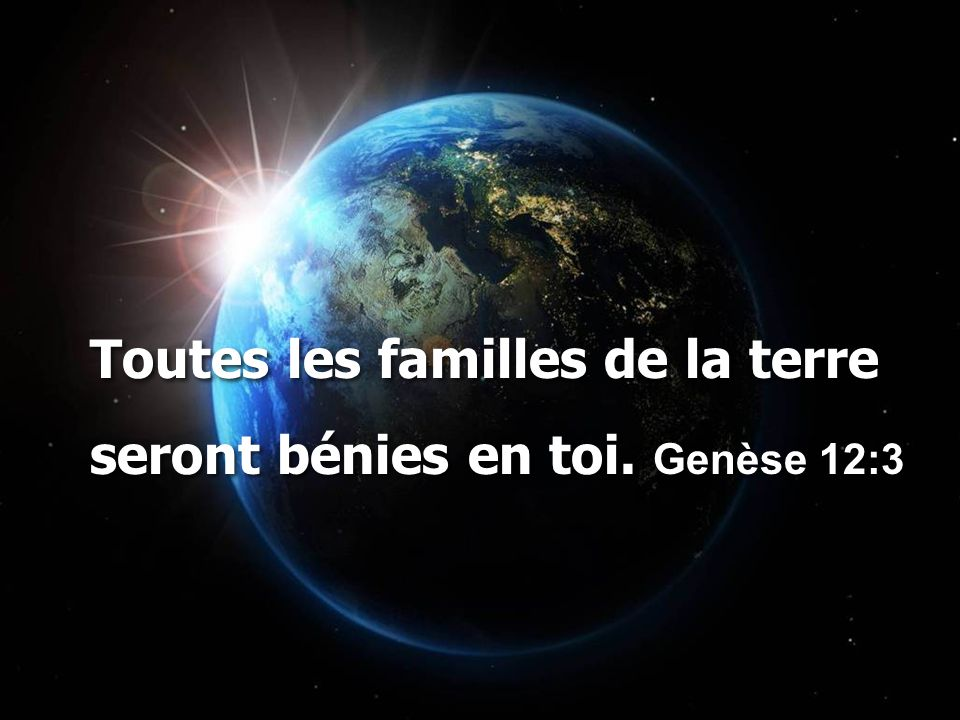 Toutes les familles de la terre