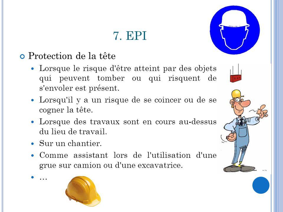 7. EPI Protection de la tête