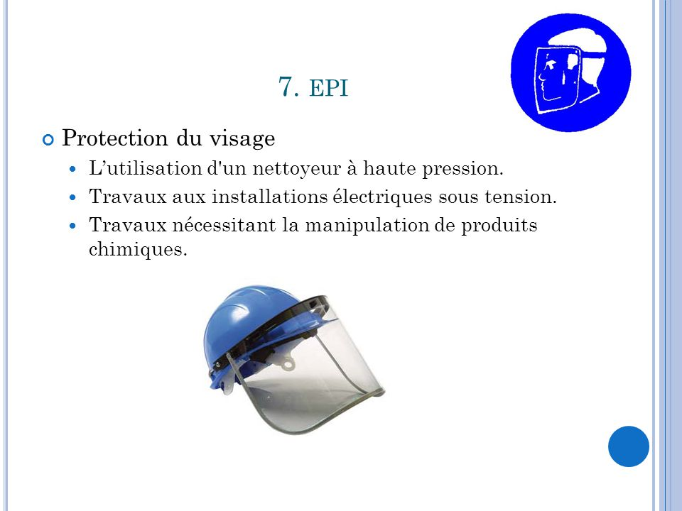 7. epi Protection du visage