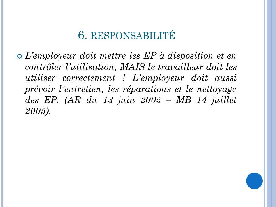 6. responsabilité