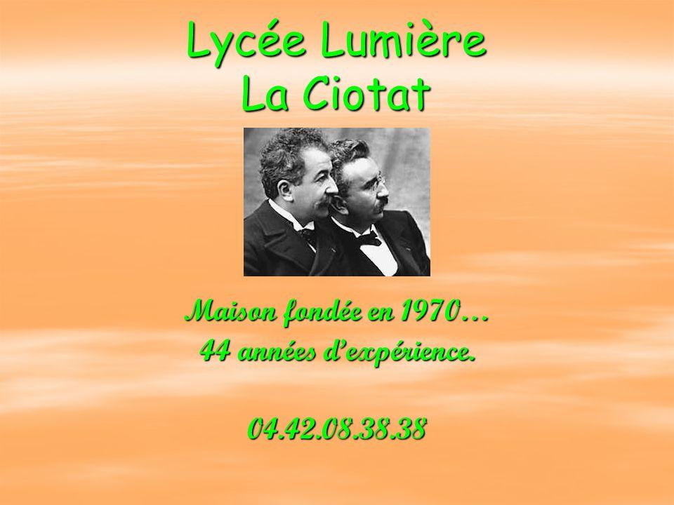 Lycée Lumière La Ciotat