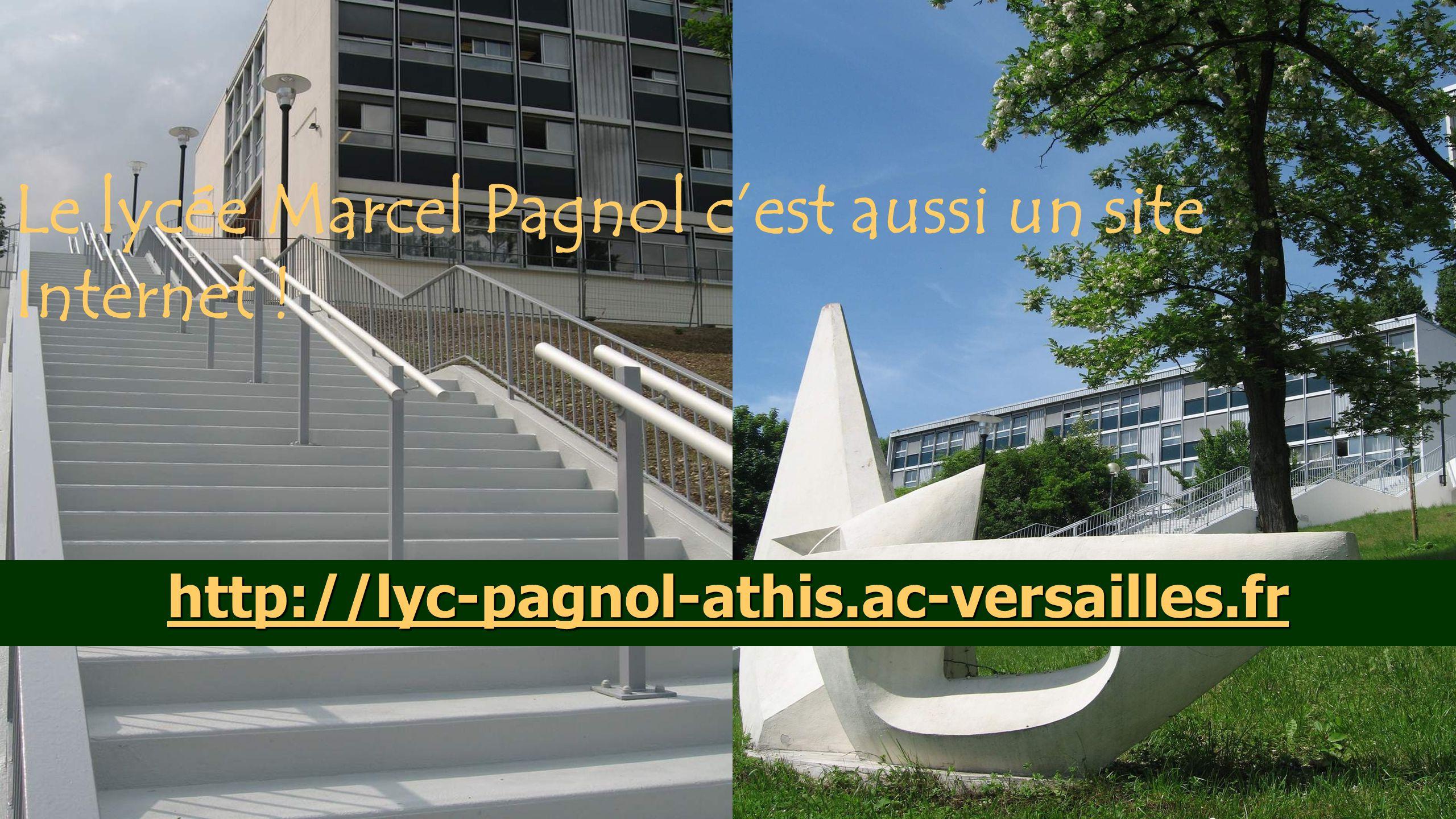 Le lycée Marcel Pagnol c'est aussi un site Internet !