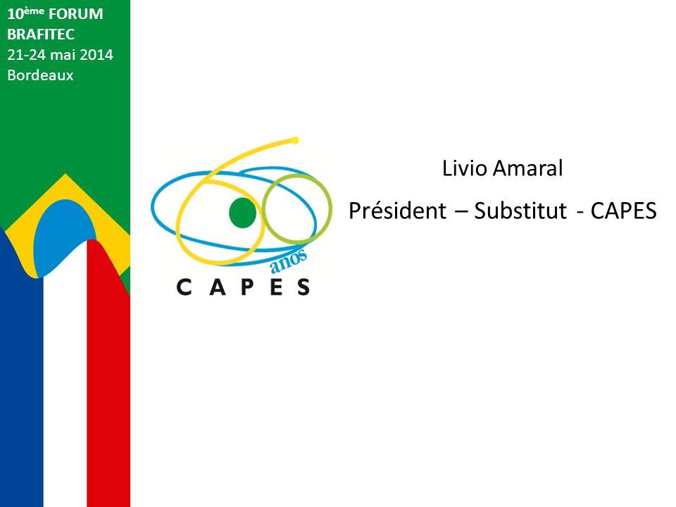 Président – Substitut - CAPES