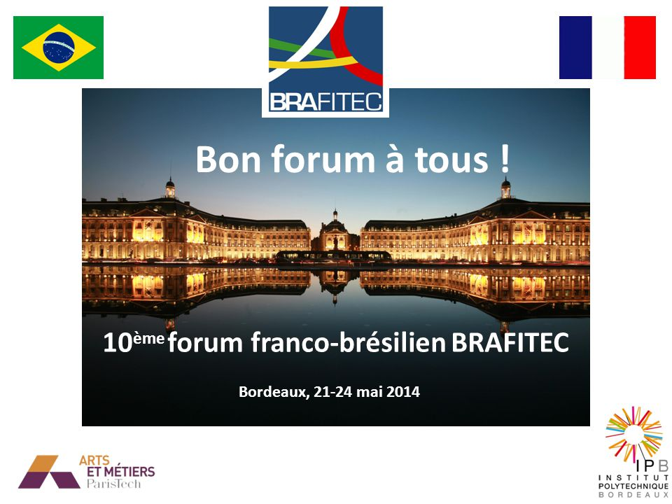 10ème forum franco-brésilien BRAFITEC