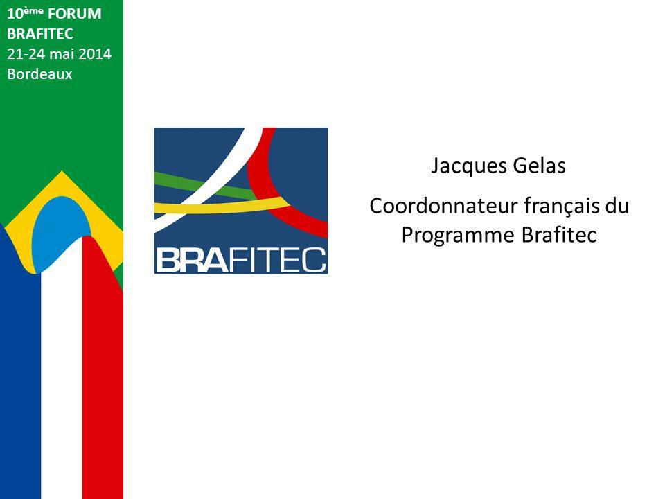 Coordonnateur français du Programme Brafitec