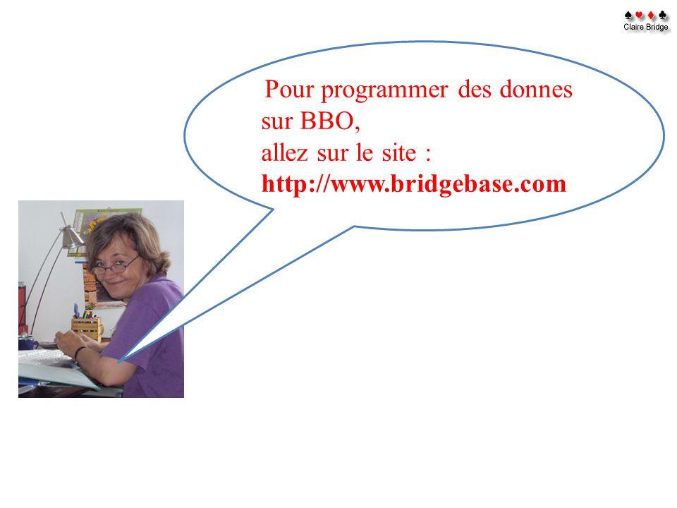 allez sur le site : http://www.bridgebase.com