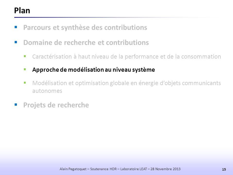Plan Parcours et synthèse des contributions