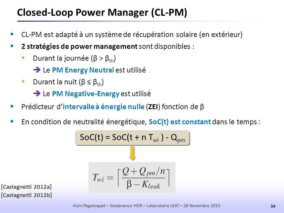 Closed-Loop Power Manager (CL-PM)