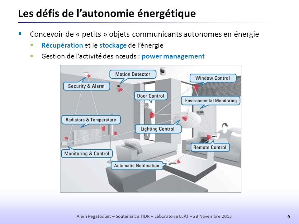 Les défis de l'autonomie énergétique