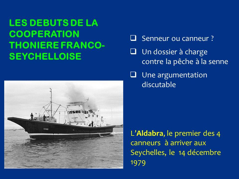LES Debuts de la cooperation thoniere franco-seychelloise