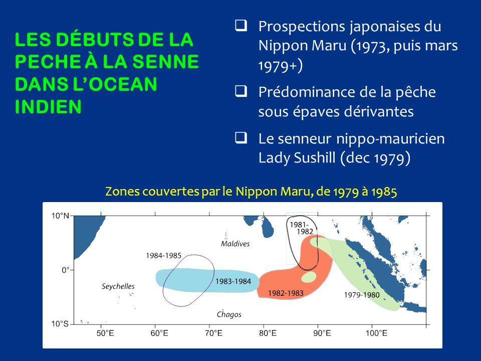 Les débuts de la peche à la senne dans l'ocean indien
