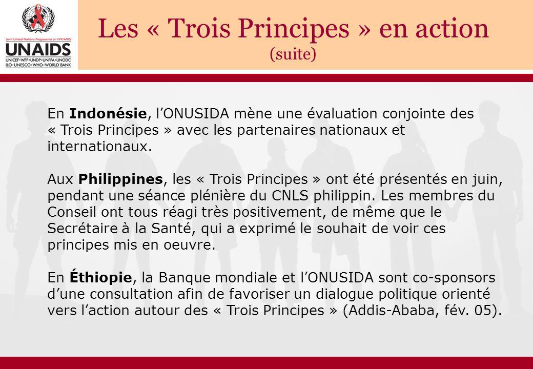 Les « Trois Principes » en action (suite)