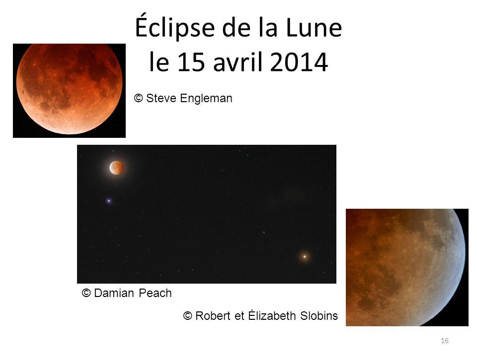 Éclipse de la Lune le 15 avril 2014