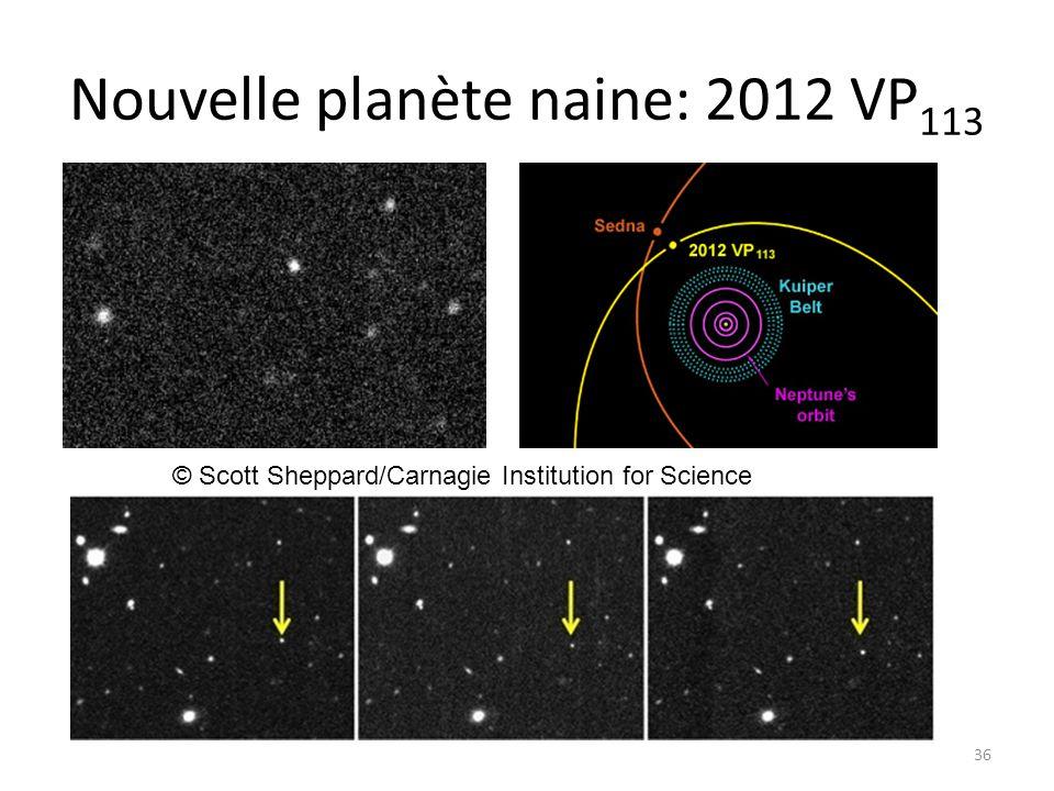 Nouvelle planète naine: 2012 VP113