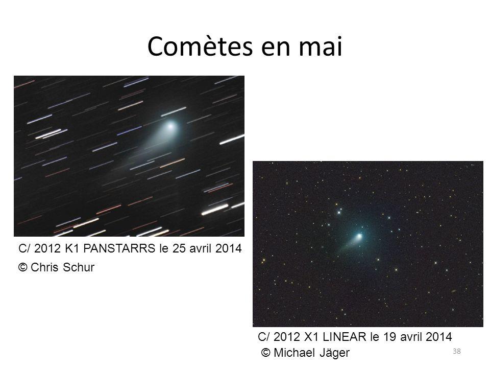 Comètes en mai C/ 2012 K1 PANSTARRS le 25 avril 2014 © Chris Schur