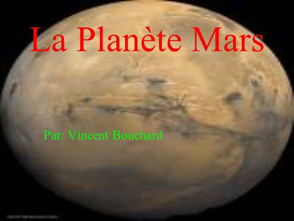 La Planète Mars Par: Vincent Bouchard
