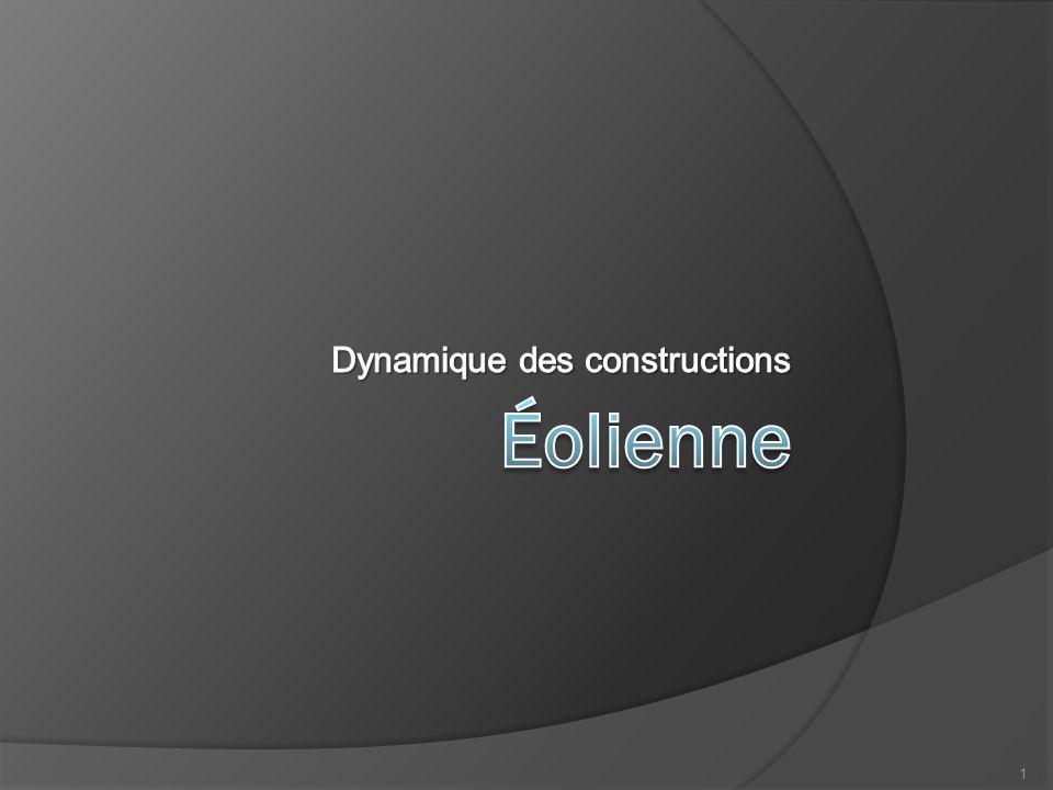 Dynamique des constructions