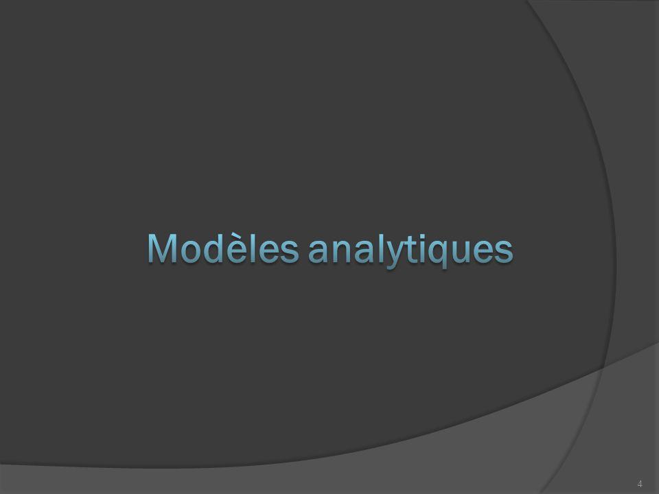 Modèles analytiques