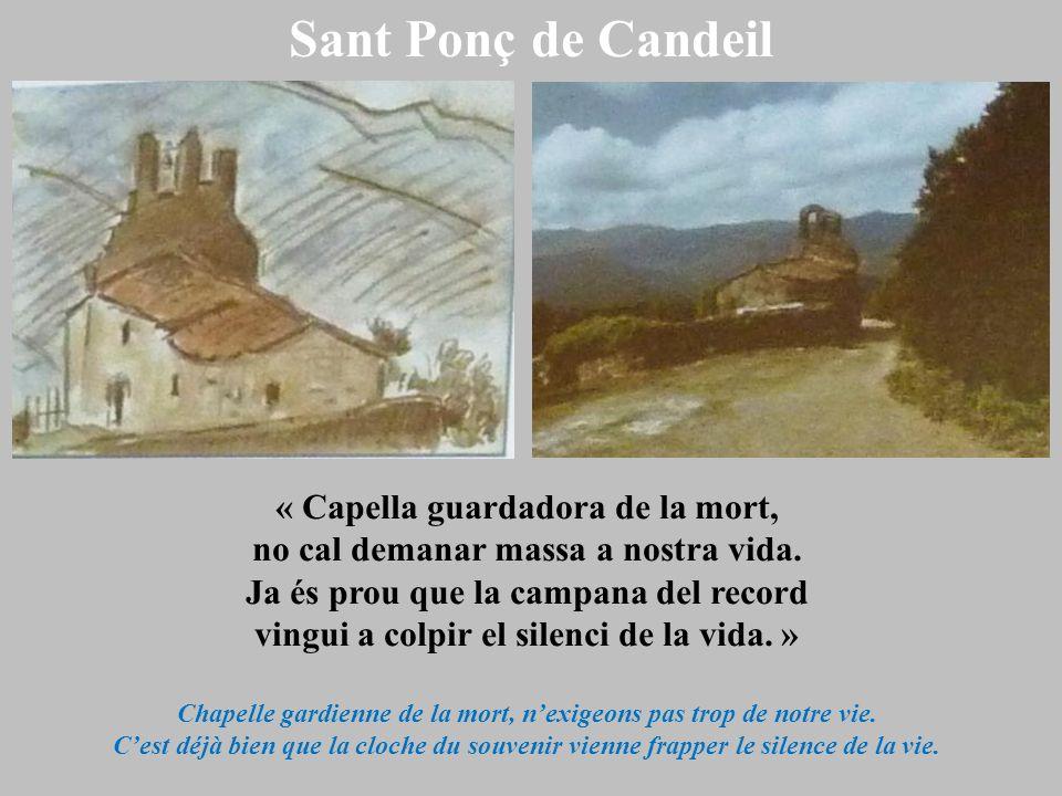 Sant Ponç de Candeil « Capella guardadora de la mort,