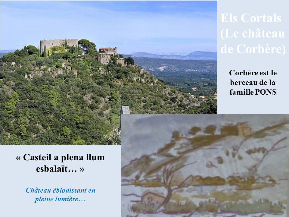 (Le château de Corbère)
