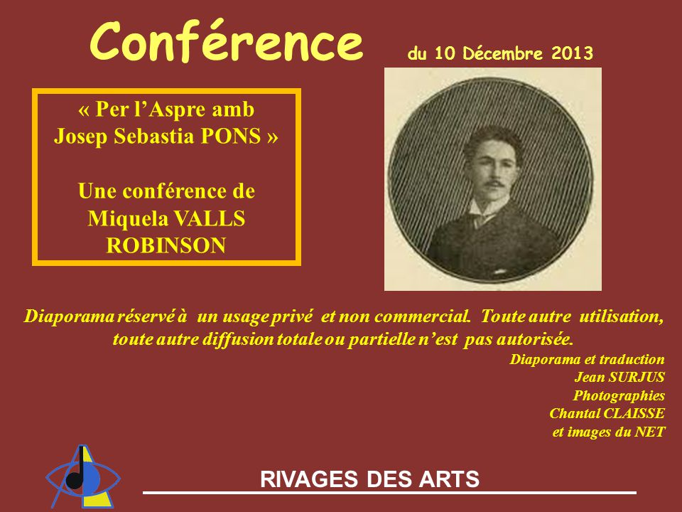 Conférence du 10 Décembre 2013
