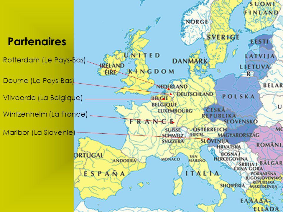 Partenaires Rotterdam (Le Pays-Bas) Deurne (Le Pays-Bas)