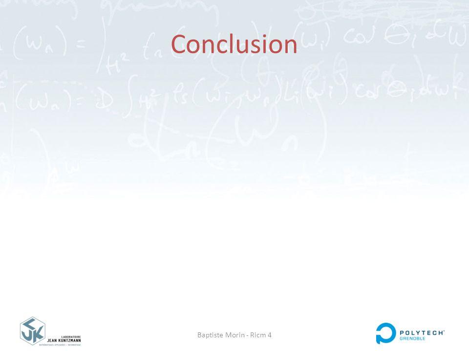 Conclusion Baptiste Morin - Ricm 4