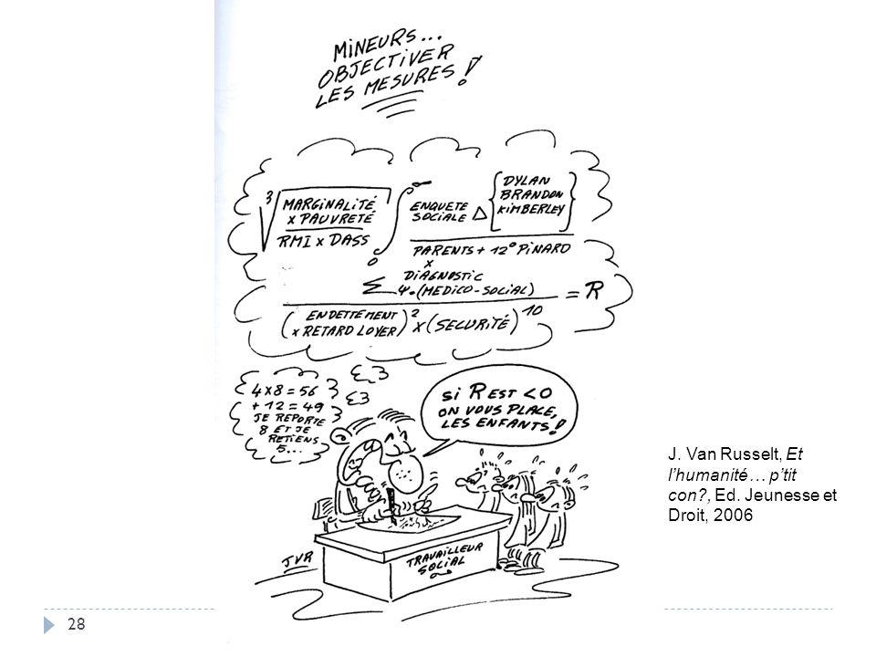 J. Van Russelt, Et l'humanité… p'tit con , Ed. Jeunesse et Droit, 2006
