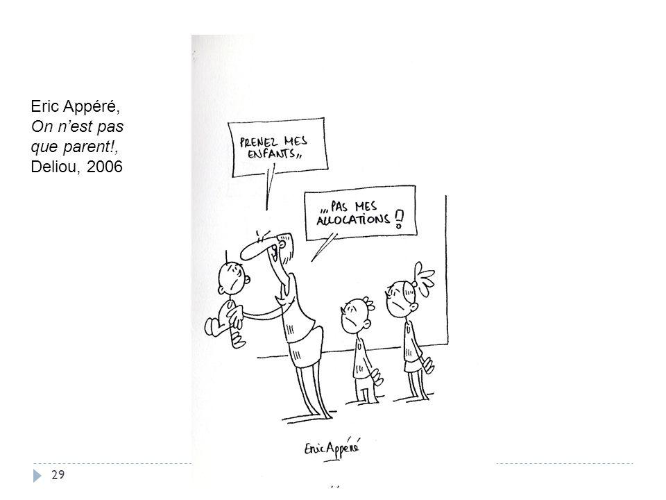 Eric Appéré, On n'est pas que parent!, Deliou, 2006