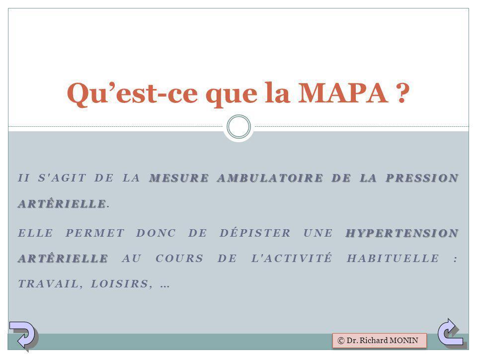 Qu'est-ce que la MAPA II s agit de la Mesure Ambulatoire de la Pression Artérielle.