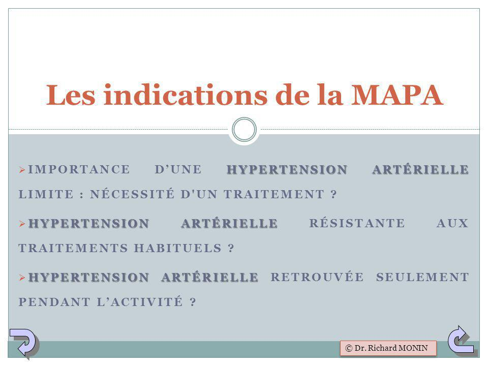 Les indications de la MAPA
