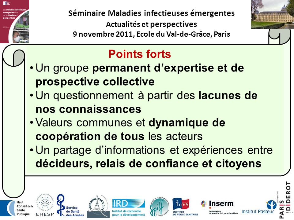 Un groupe permanent d'expertise et de prospective collective