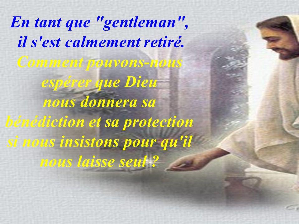 En tant que gentleman ,
