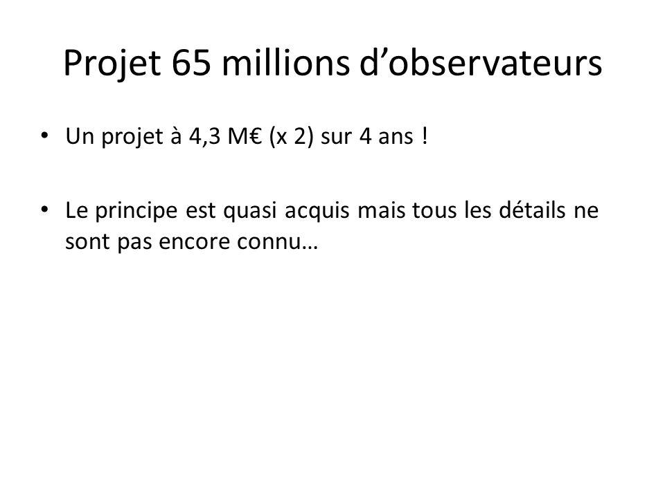 Projet 65 millions d'observateurs