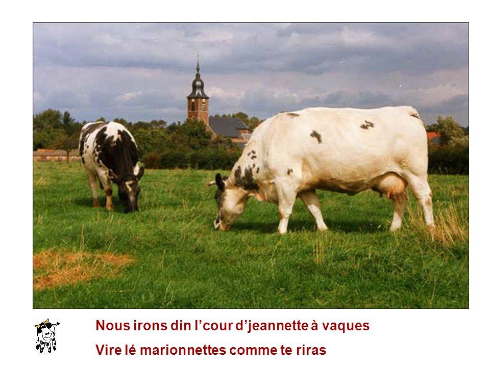 Nous irons din l'cour d'jeannette à vaques