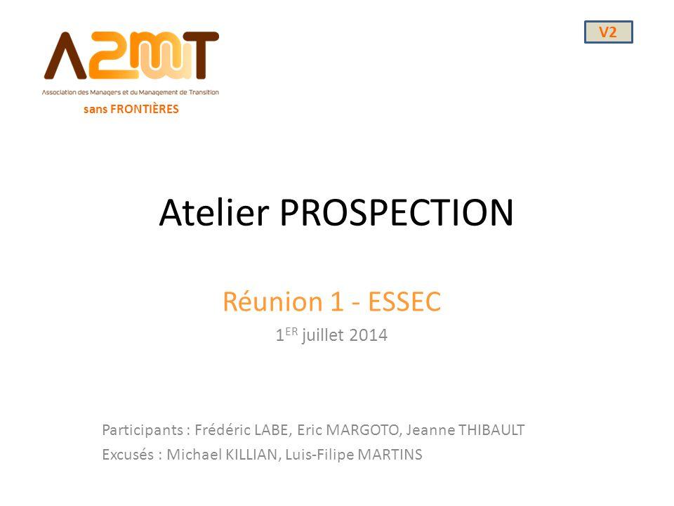 Réunion 1 - ESSEC 1ER juillet 2014