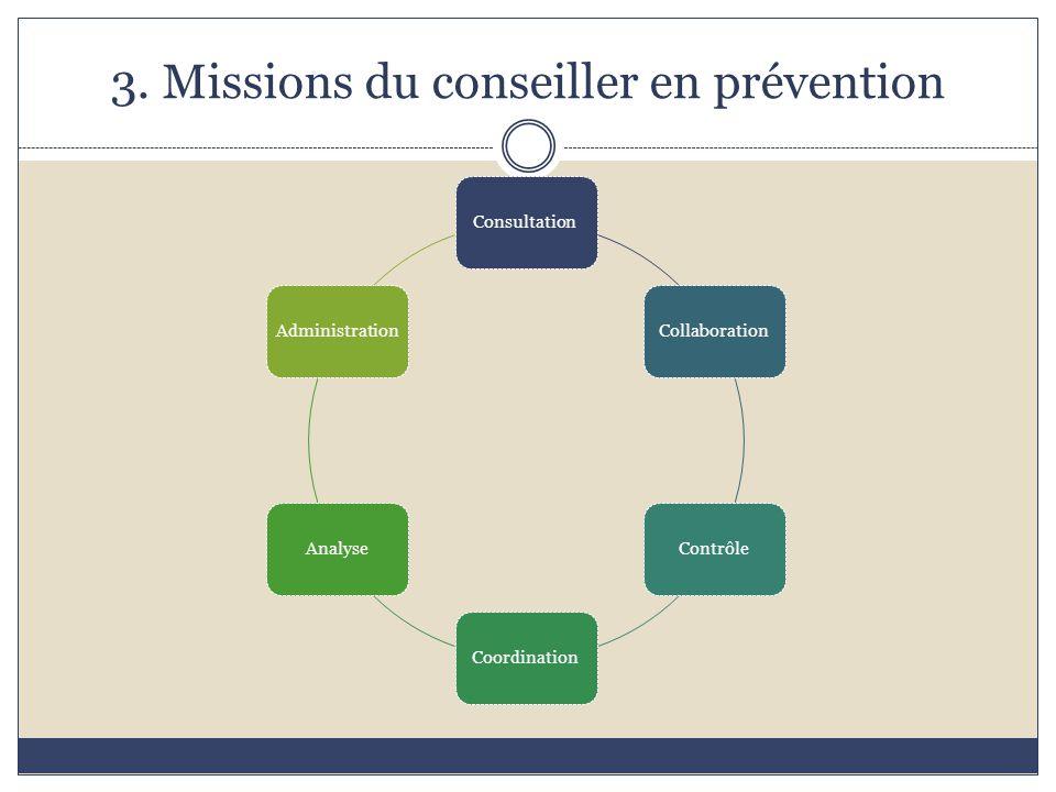 3. Missions du conseiller en prévention