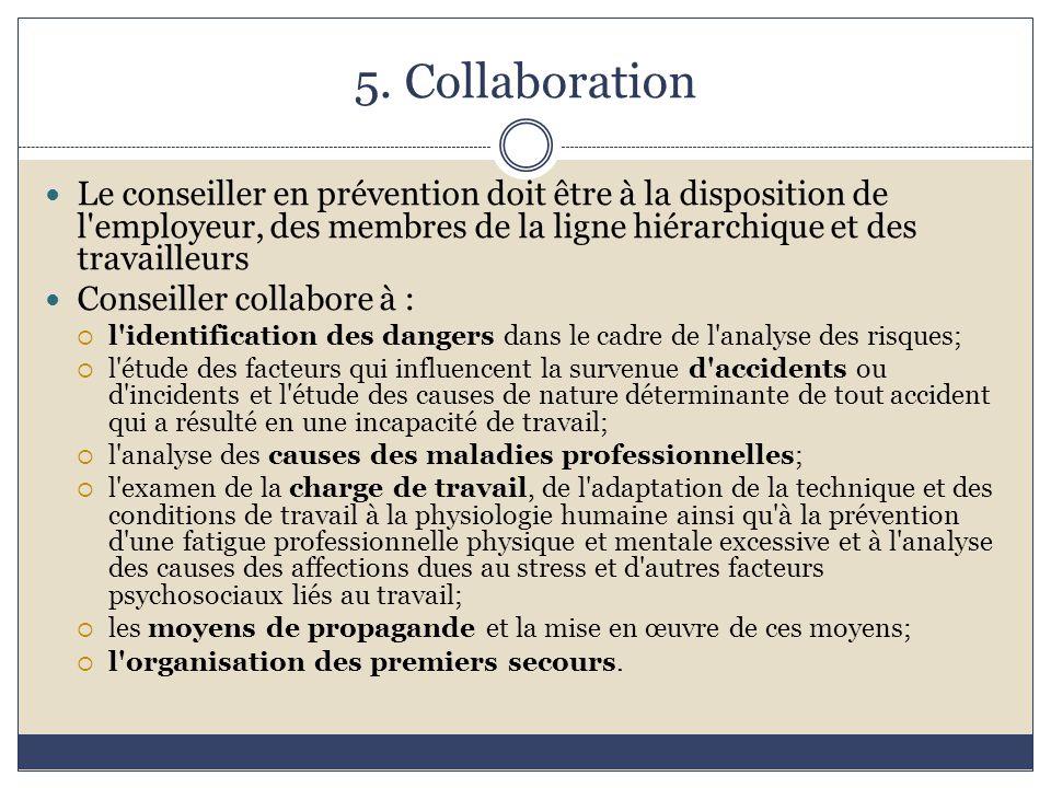Missions du conseiller en pr vention ppt video online - Grille d identification des risques psychosociaux au travail ...