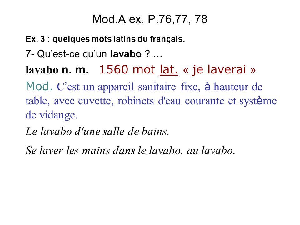 lavabo n. m. 1560 mot lat. « je laverai »