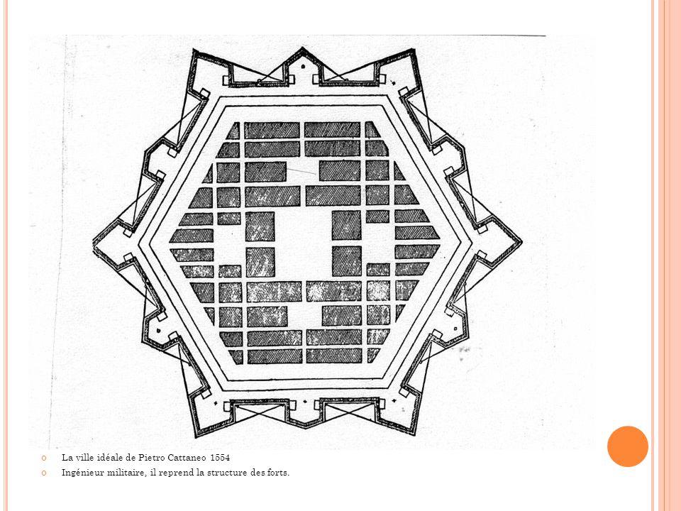 La ville idéale de Pietro Cattaneo 1554