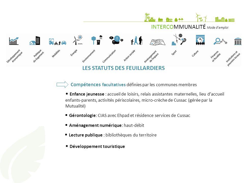 LES STATUTS DES FEUILLARDIERS