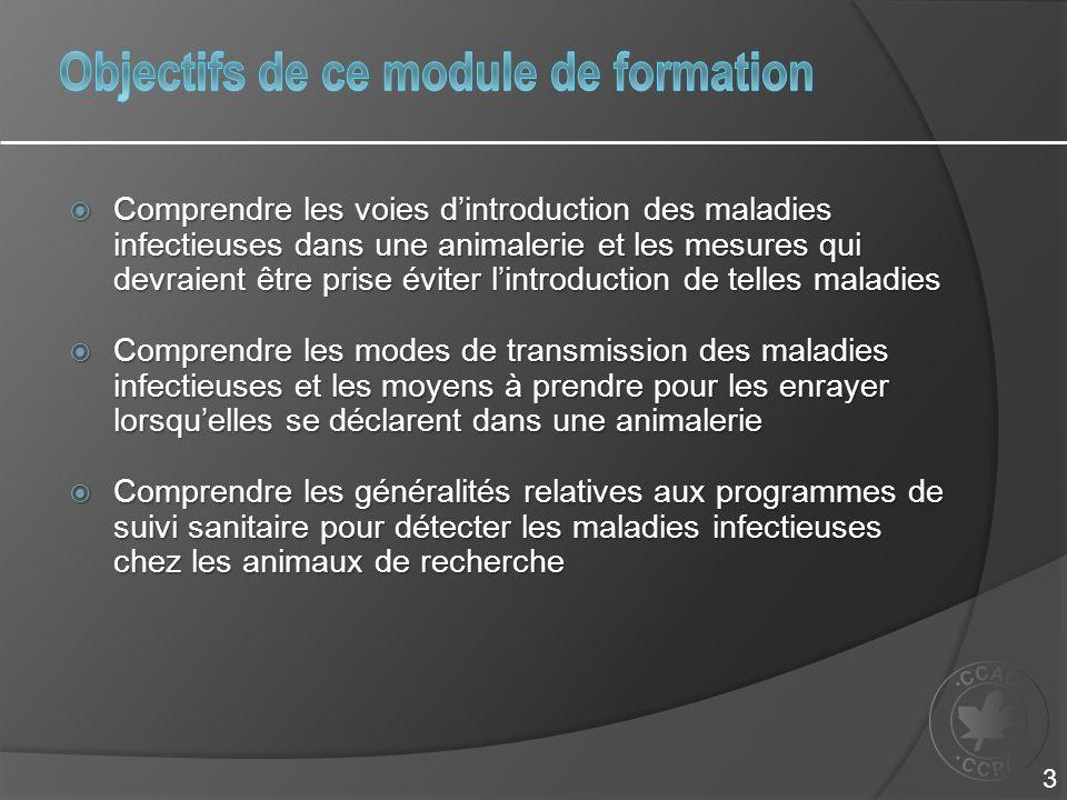 Objectifs de ce module de formation